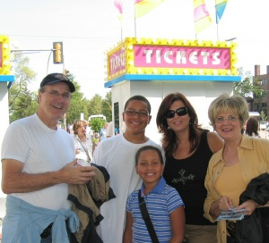Our family tradition---enjoying the Minnesota State Fair