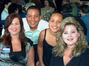 Our girls: LaDawn, and her 2 children, and LaShawn